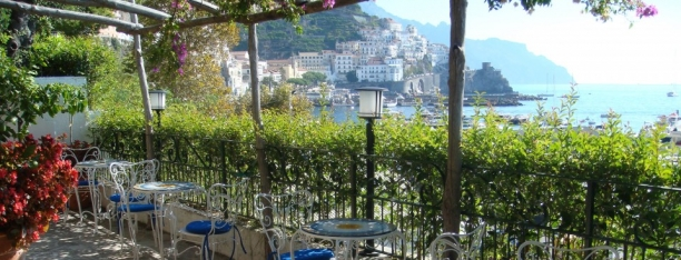 Amalfi from Hotel Aurora patio - Beyond the Pasta - Mark Leslie