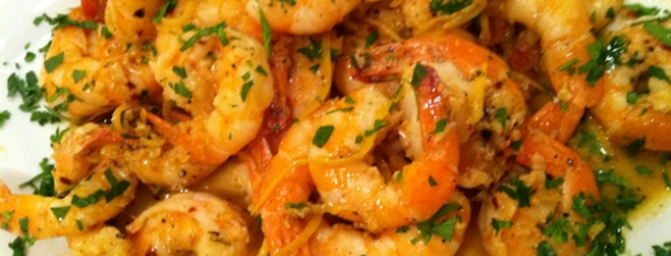 Bourbon Shrimp Scampi
