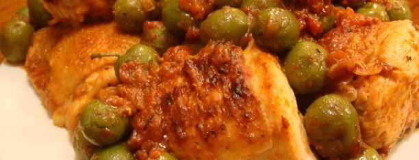 Chicken With Tomatoes Olives Post Photo