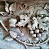 Fireplace Grape Detail