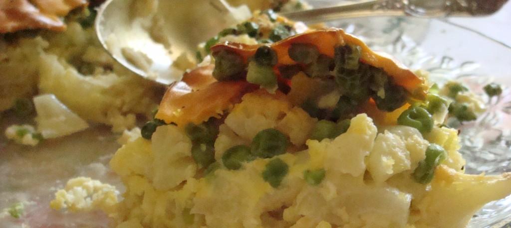 Anna's potato and pea quiche- Beyond the Pasta