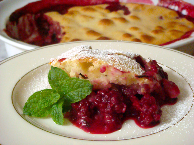 Berry Cobbler - Mark Leslie - Beyond the Pasta