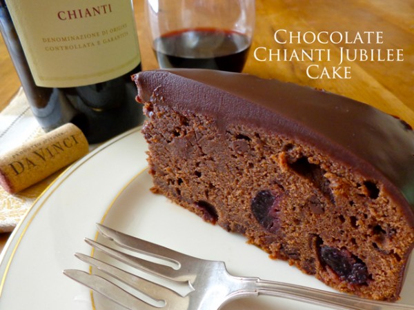 """Chocolate Chianti Jubilee Cake"" ""Mark Leslie"" ""DaVinci Wine"" ""Beyond the Pasta"""