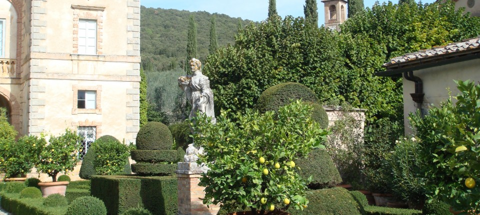 Villa Cetinale, Ancaiano, Italy...outside of Siena, Italy