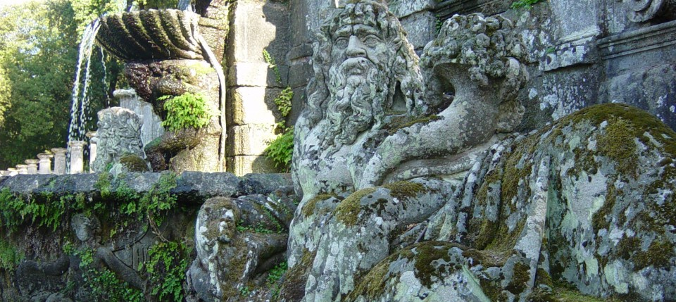 Sea God, Villa Lante, Bagnaia