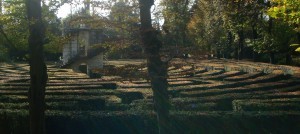 The labyrinth garden at Villa Pisani, Stra', Italy...just outside Padova, Italy