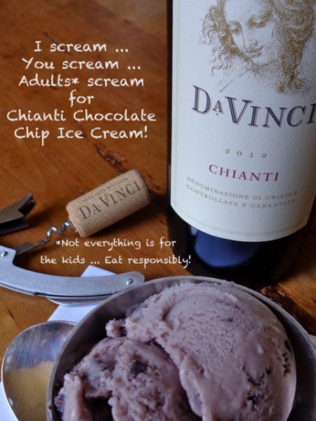 """DaVinci Chianti"" ""Mark Leslie"" ""Beyond the Pasta"""