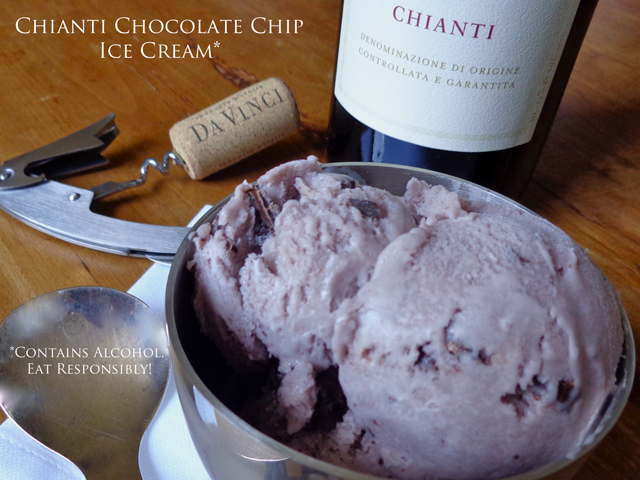 """Mark Leslie"" ""DaVinci Chianti ice cream"" ""Beyond the Pasta"""