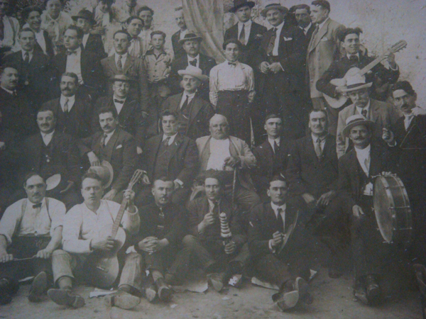 Day 4 Photo- antique photo showing a civic organization