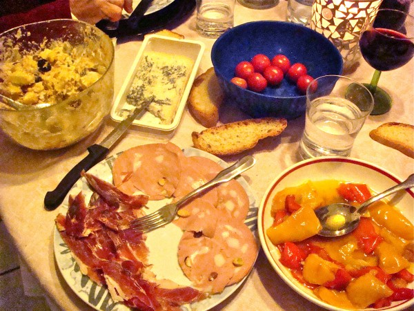 Dinner in Viterbo, Sunday Jan 2 - Beyond the Pasta - Mark Leslie