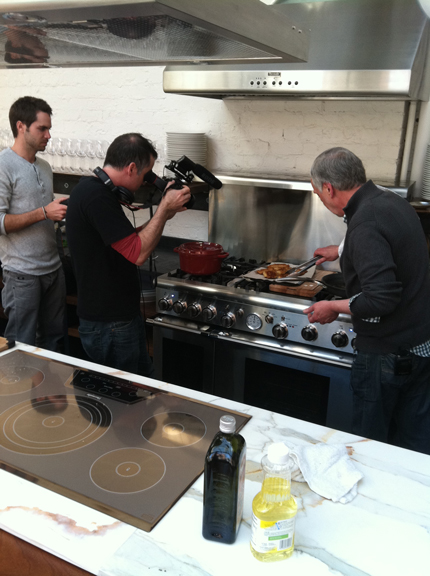 Gianni-in-action Mark Lesile Beyond the Pasta