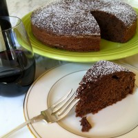Italian Chocolate Chianti Cake photo