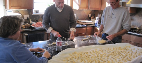 Making orecchiette - Beyond the Pasta - Mark Leslie