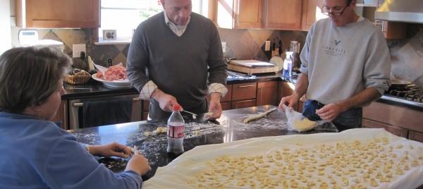 Making orecchiette - Beyond the Pasta - Mark Leslie