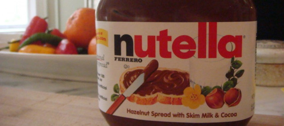 Nutella front post image - Beyond the Pasta - Mark Leslie