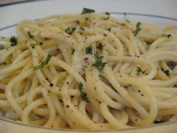 Spaghetti Cacio e Pepe photo - Beyond the Pasta - Mark Leslie