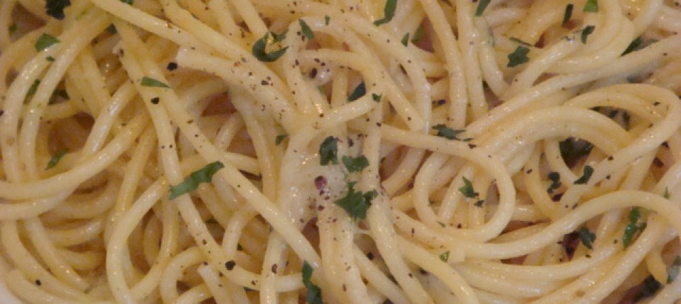 Spaghetti Cacio e Pepe post image - Beyond the Pasta - Mark Leslie