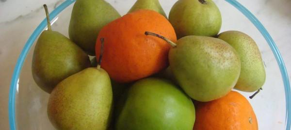 fresh fruit - beyond the pasta - mark leslie