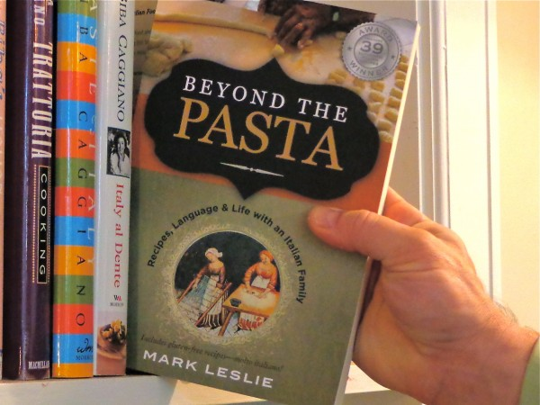 "Beyond the Pasta paperback cover"" ""Mark Leslie"" ""Gemelli Press"""