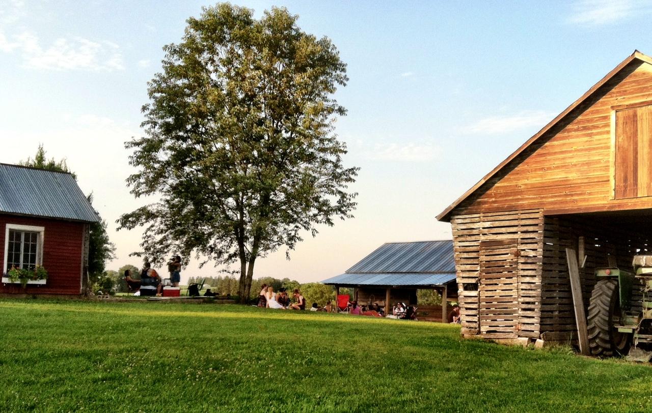 Farm Barn farm barn sitting